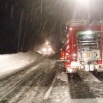 Einsatz auf der B311 in Taxenbach - Eschenau
