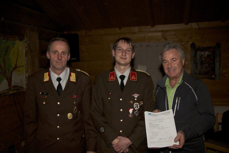 OFK Scheuerer mit AFK und Bürgermeister